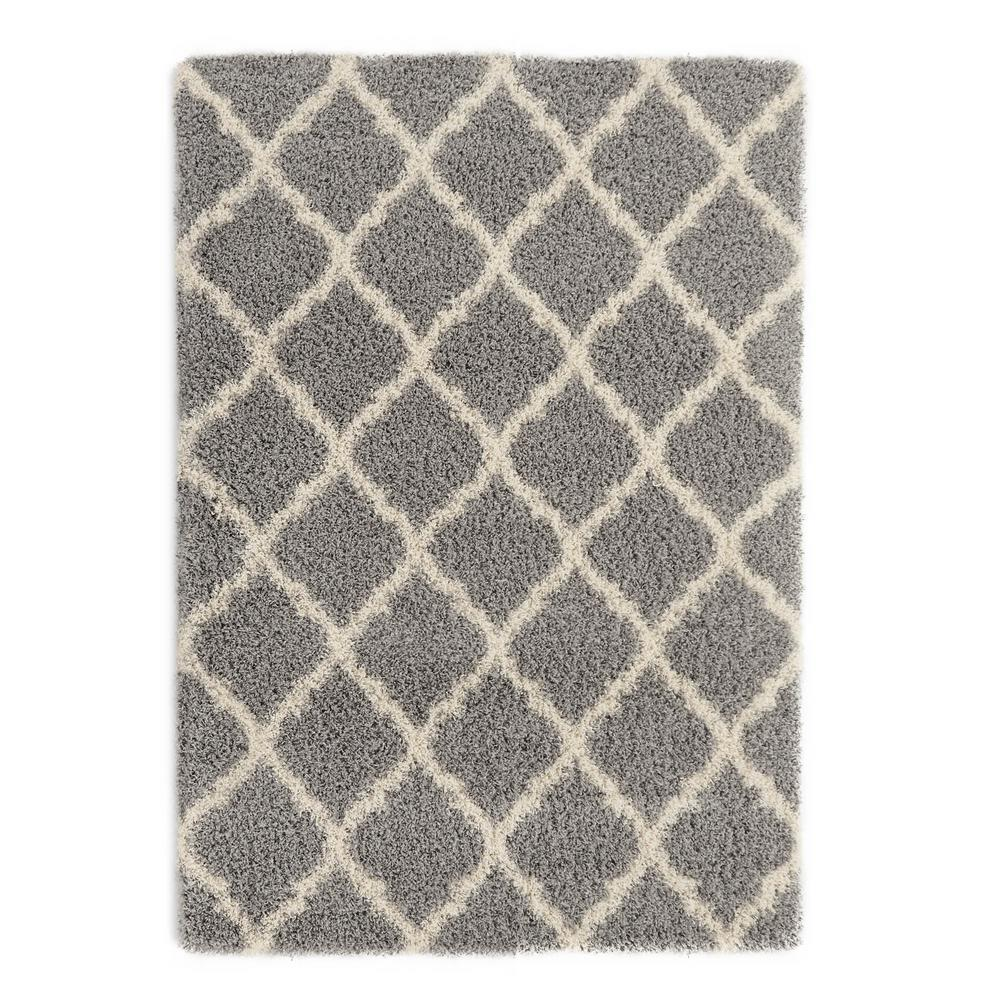 shag rugs this question is from ultimate shaggy contemporary moroccan trellis design  grey 7 WLRLPIA