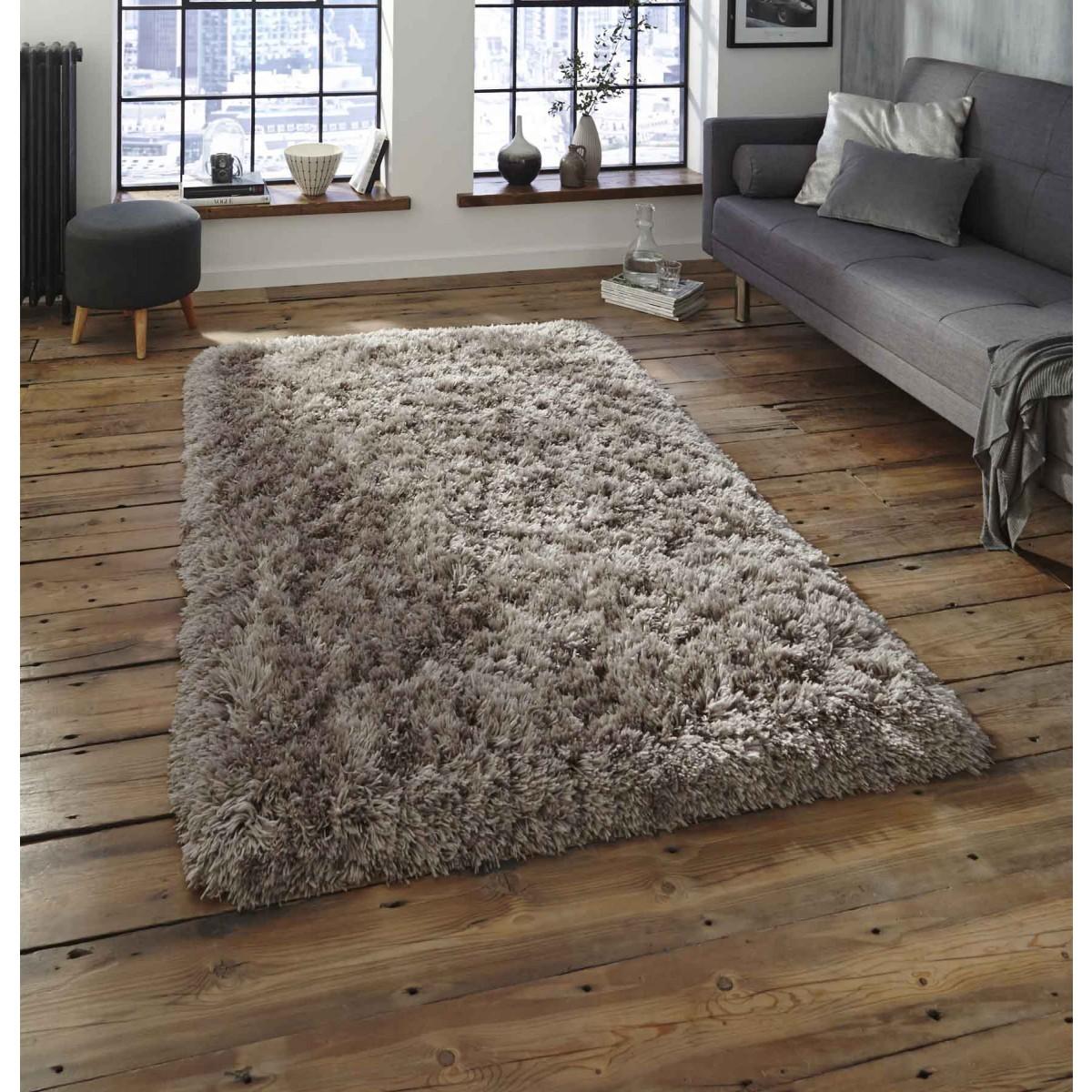 shaggy rugs buy polar pl95 grey thick shaggy rug|therugshopuk UVKGVSE