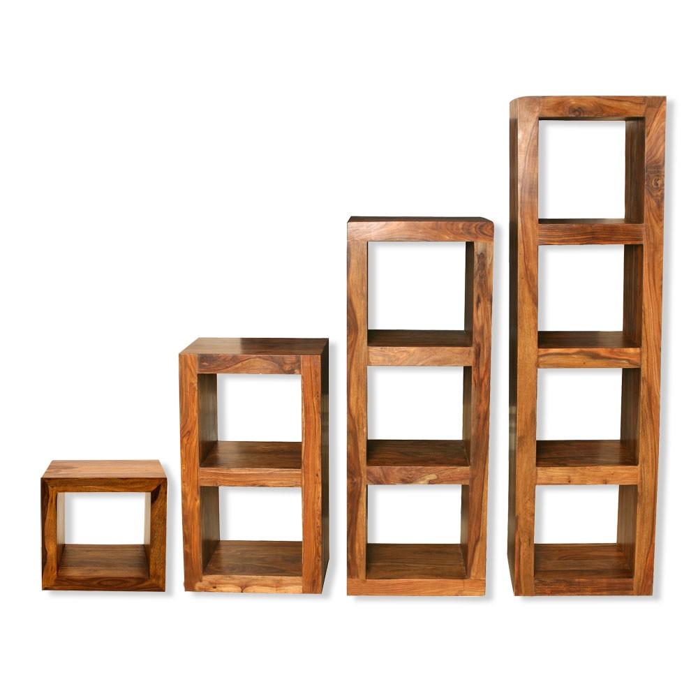 shelf units cube shelving units, solid sheesham wood - shelving units living room CUPVRME