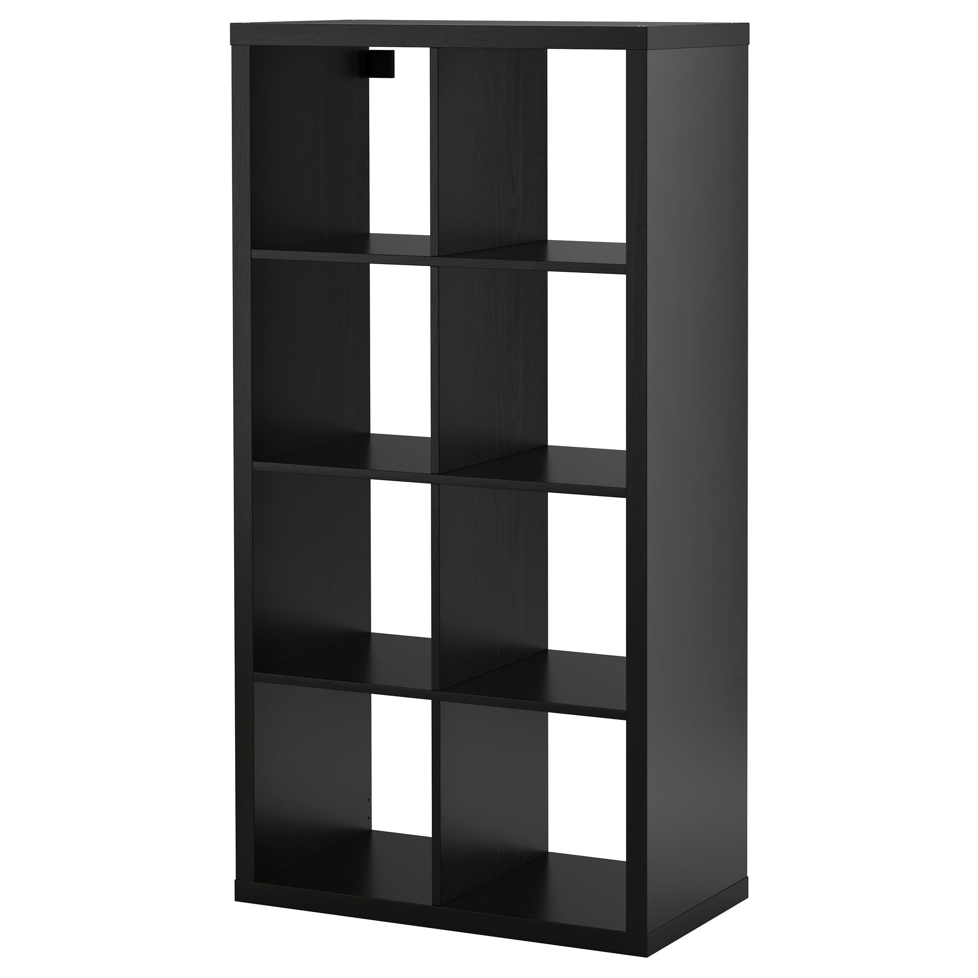 shelf units kallax shelf unit, black-brown width: 30 3/8  NYJYQTO