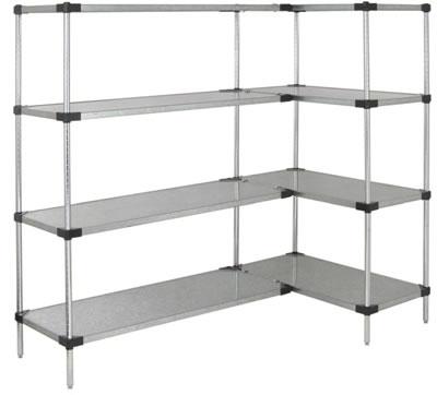 shelf units solid shelf unit galvanized steel ... ZBYTZOM
