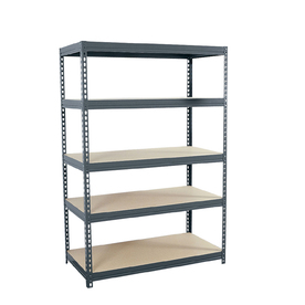 shelving units edsal 72-in h x 48-in w x 24-in d 5 FUOLARR