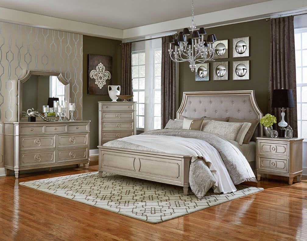 silver bedroom furniture bedroom furniture set RDXLGHH