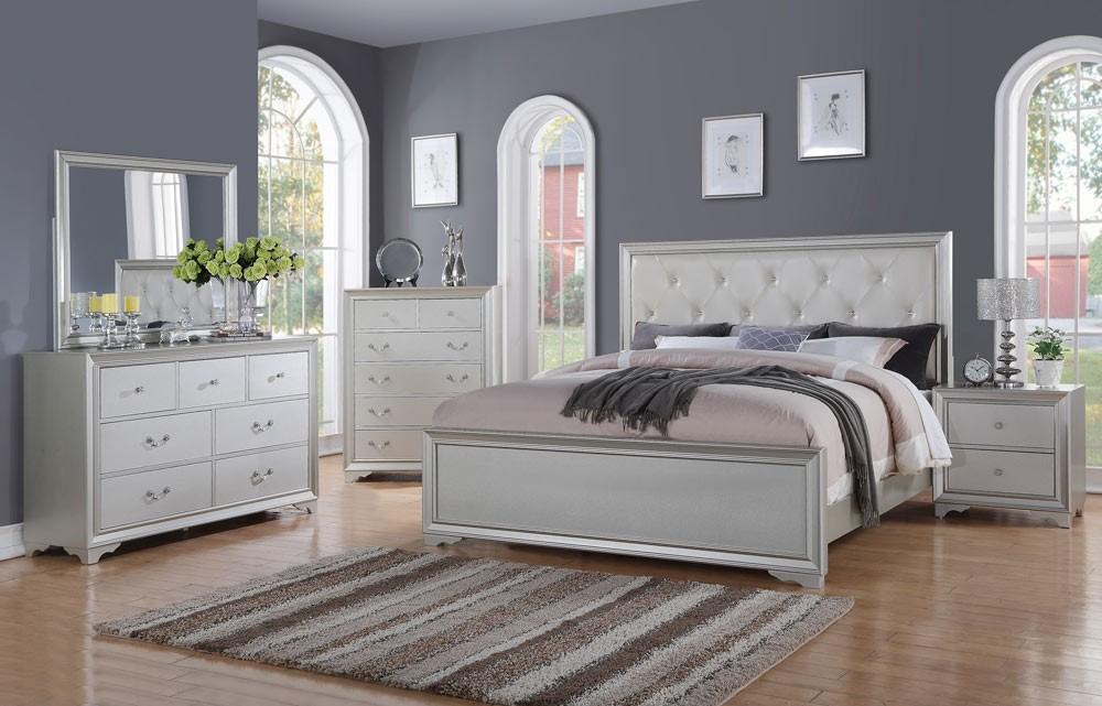silver bedroom furniture LAIZMTV