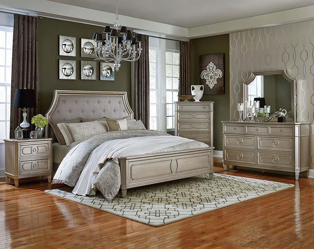 silver bedroom furniture windsor silver bedroom set AEZUSIV