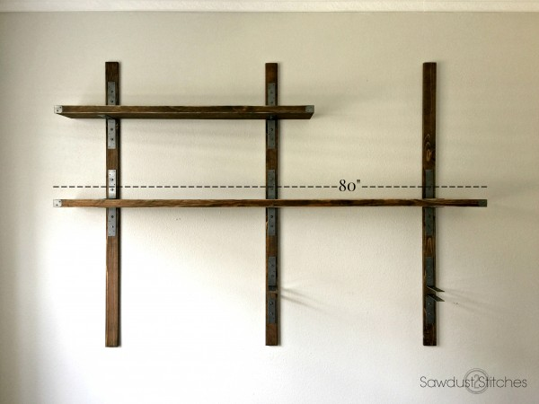 simpson industrial wall mounted shelves diy SECUHIQ