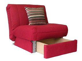 single sofa bed leila deluxe chair bed + storage on sofabed barn multi-purpose furniture  the CSZIHPH