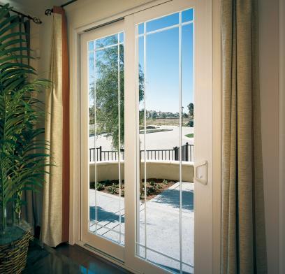 sliding patio doors milgard® vinyl door frame colors RWSEFGZ