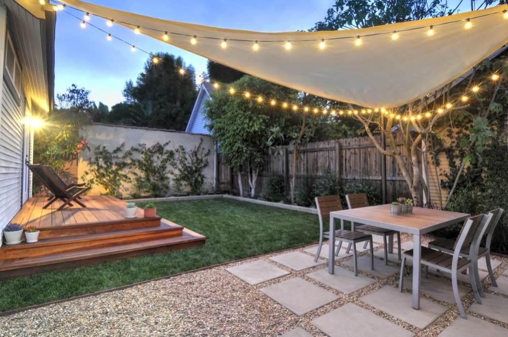 small backyard ideas small-backyard-hill-landscaping-ideas-to-get-cool- NQEVMWA