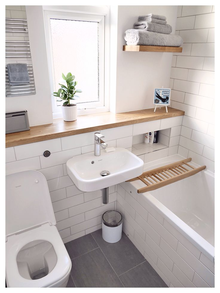 small bathroom ideas new bathroom : duravit happy d2 sink, hansgrohe metris taps, rob ryan tile, EXKFPZI