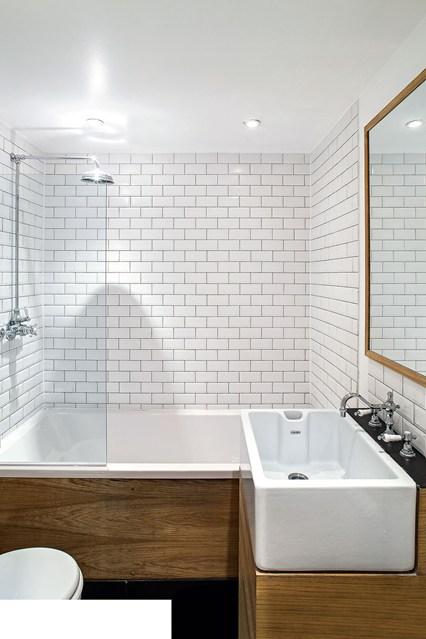 small bathroom ideas supersize sink KDZCDRL
