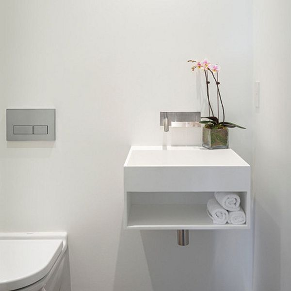 small bathroom sink home decorating trends - homedit DYAICKI