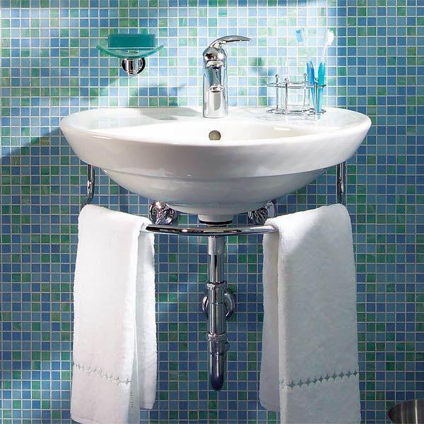 small bathroom sink installing a bathroom sink: wall-hung sink CUKFSHB