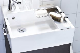 small bathroom sink sommar 2016 kuddfodral, vit, blå rand. tiny bathroomssmall space bathroomsmall  sinkcompact ... DKQDJOM