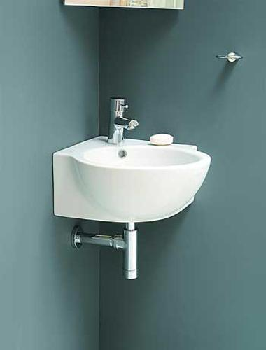 small bathroom sinks corner bathroom sinks creating space saving modern bathroom design ECSOIAM