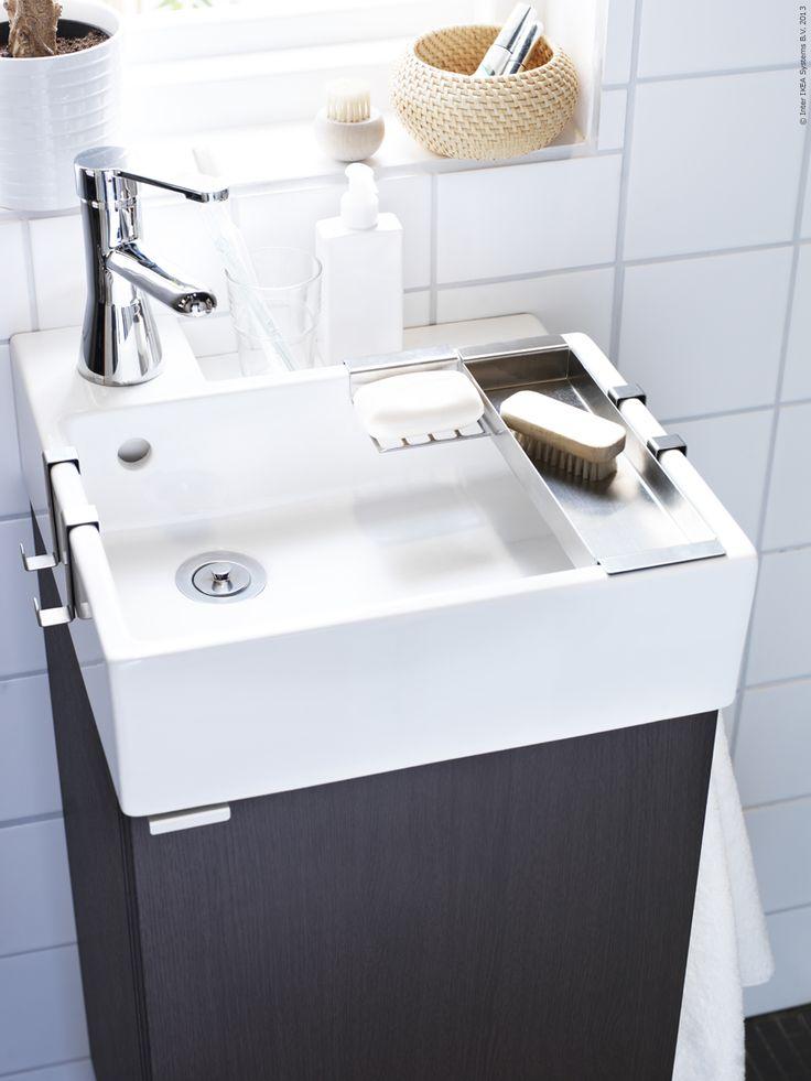 small bathroom sinks sommar 2016 kuddfodral, vit, blå rand. tiny bathroomssmall space bathroomsmall  sinkcompact ... OKRDICW