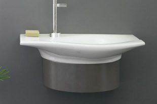 small bathroom sinks - the lazy womanu0027s guide to small bathroom sinks | YRQLXBM