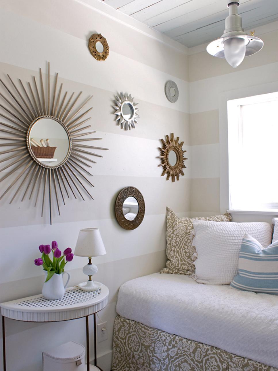small bedroom furniture 9 tiny yet beautiful bedrooms | hgtv ZKBYCGI