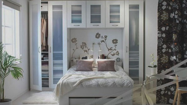 small bedroom ideas collect this idea photo of small bedroom design and decorating idea - white JWBAGUR