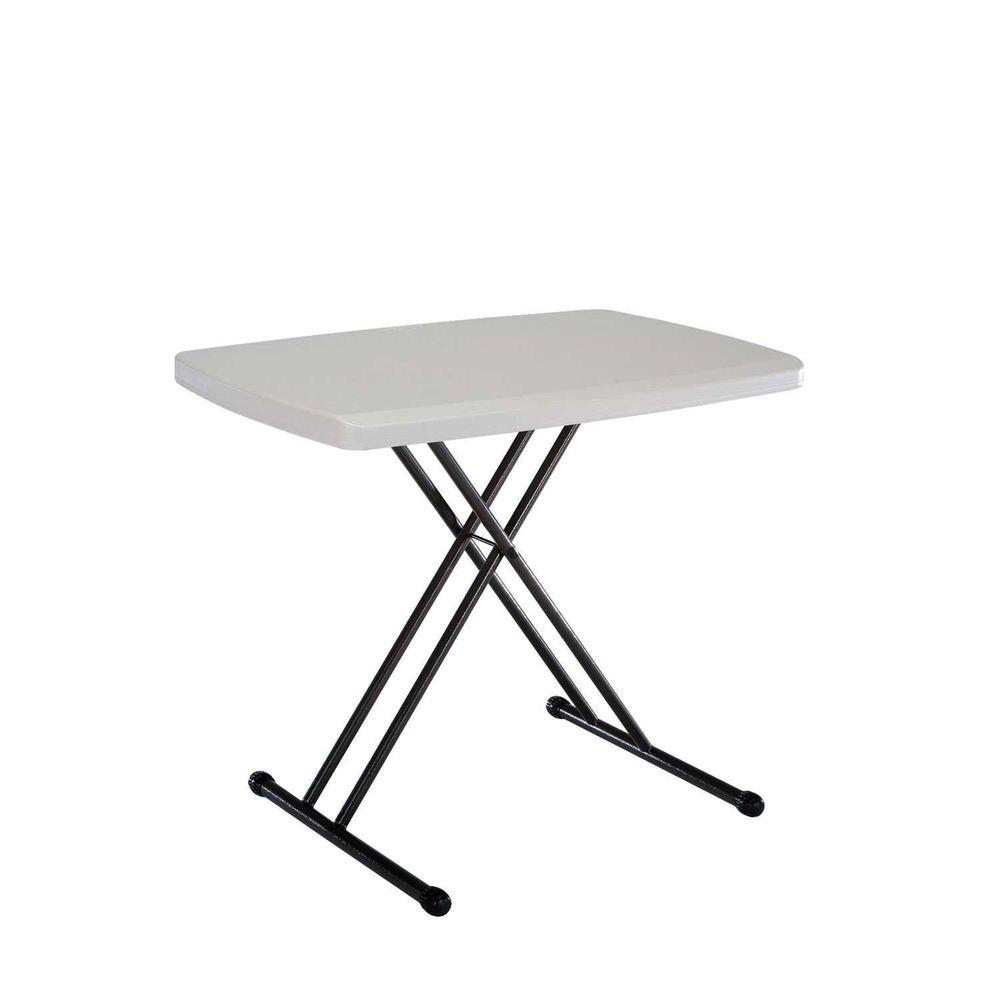 small folding table personal folding table in almond WDMAVRR