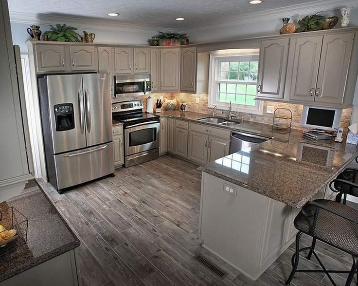 small kitchen designs kitchen, small kitchen with peninsula and recessed lighting over kitchen  cabinets: 20 ZKYLYQT