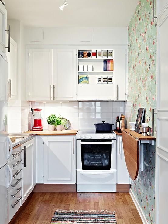 small kitchen designs soft, feminine and sunny USVFSTC