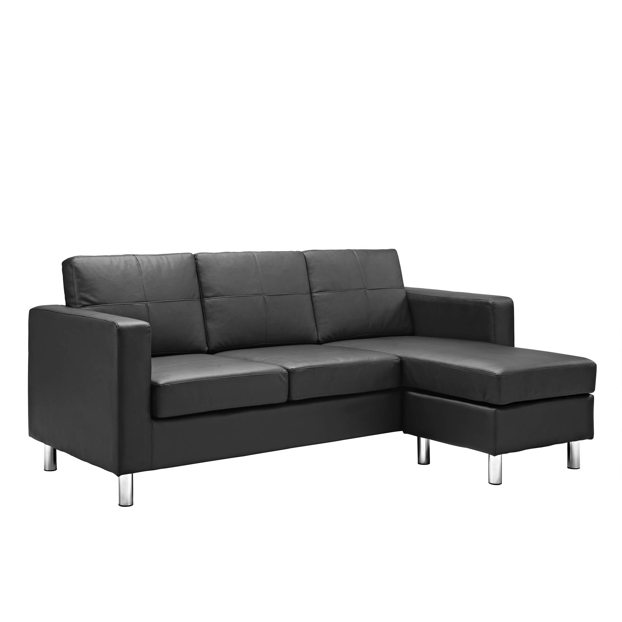 small sectional sofa dorel living small spaces configurable sectional sofa, multiple colors -  walmart.com GRNJNFH