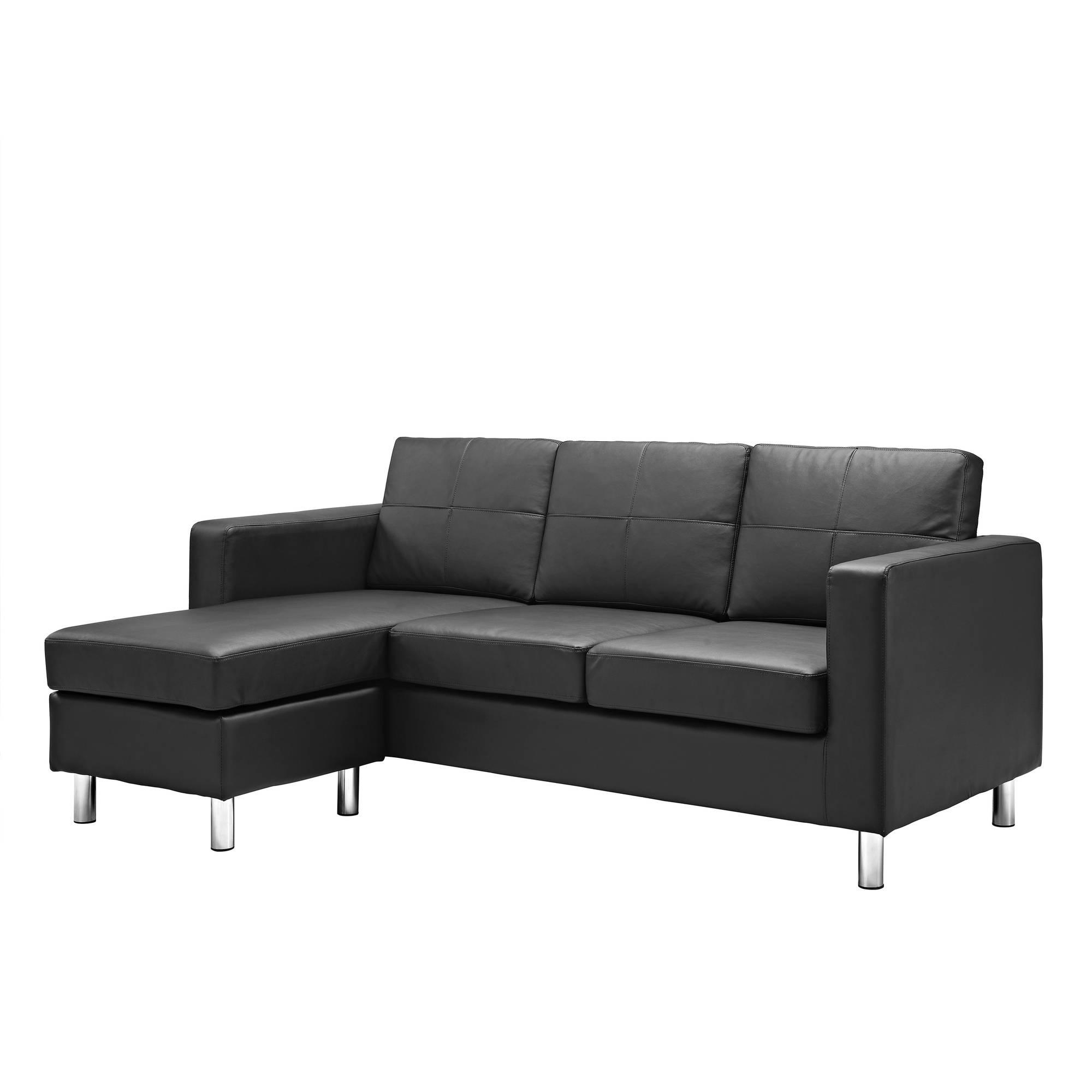 small sectional sofa dorel living small spaces configurable sectional sofa, multiple colors -  walmart.com ZEPJHRJ