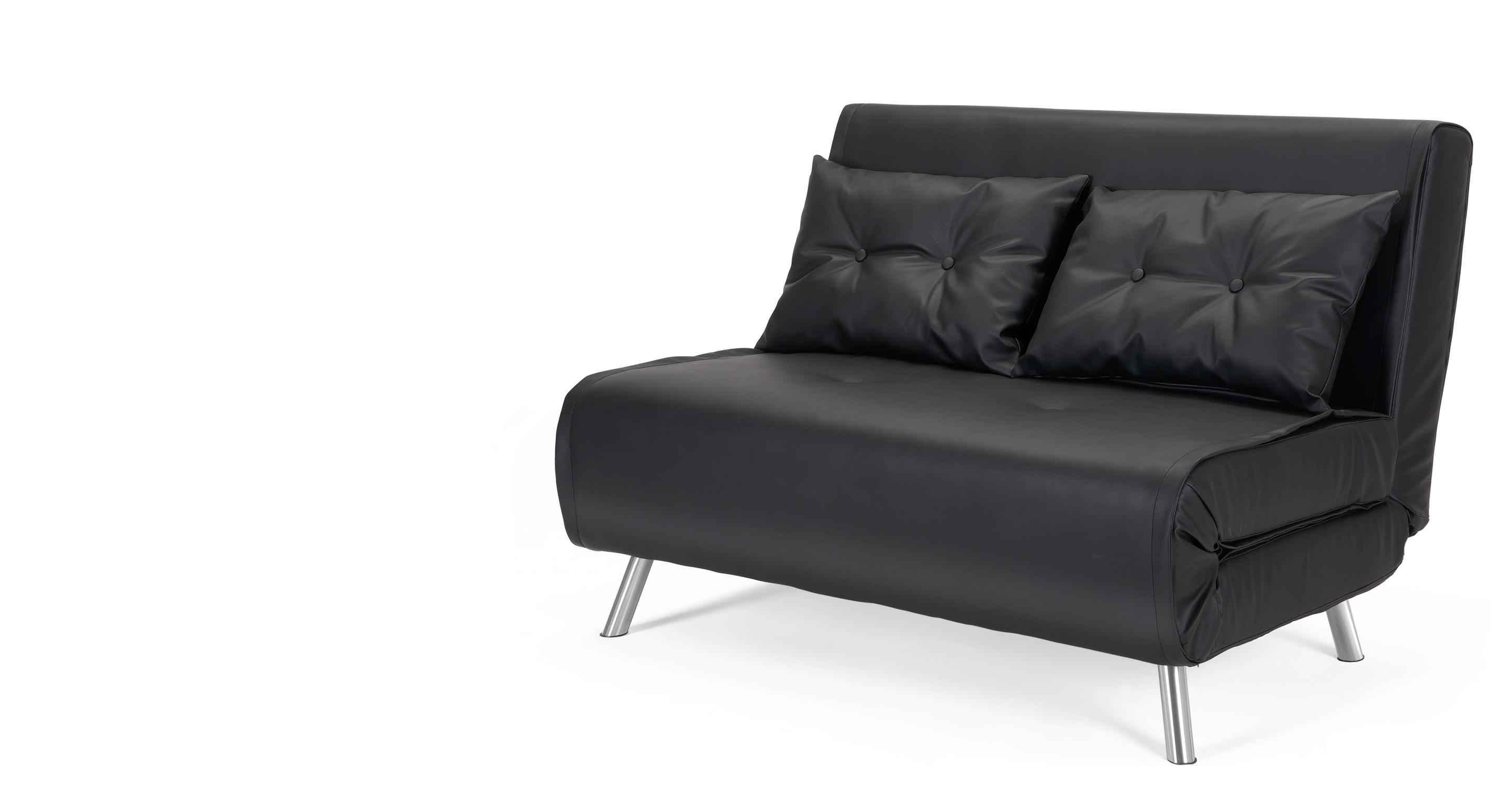 small sofa beds a small sofa bed, in garnet black GUXYIJF