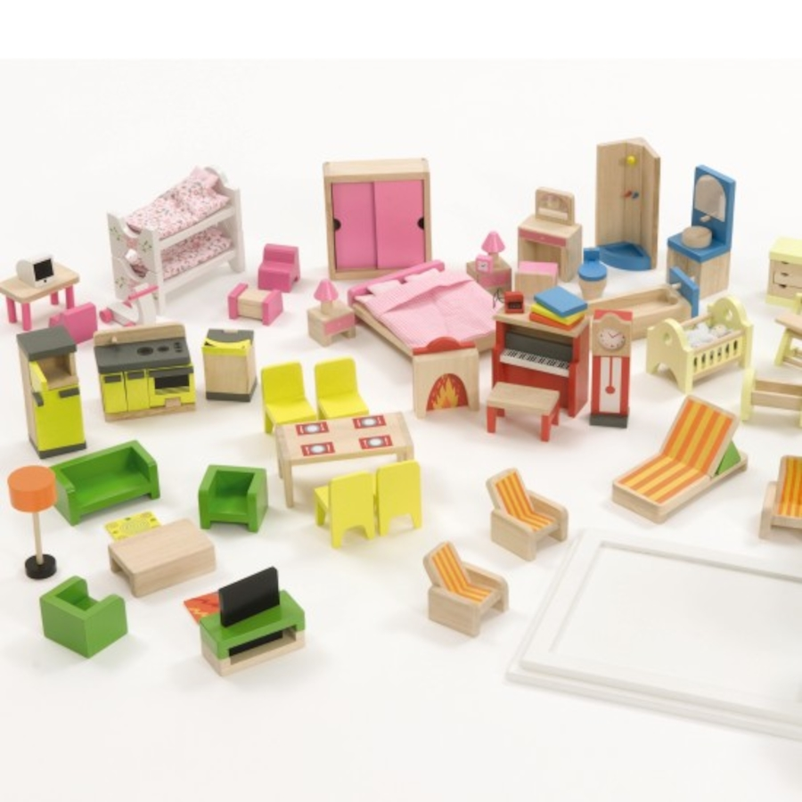 small world dolls house furniture set 40pcs large tts school resources  online ZXQZSXC