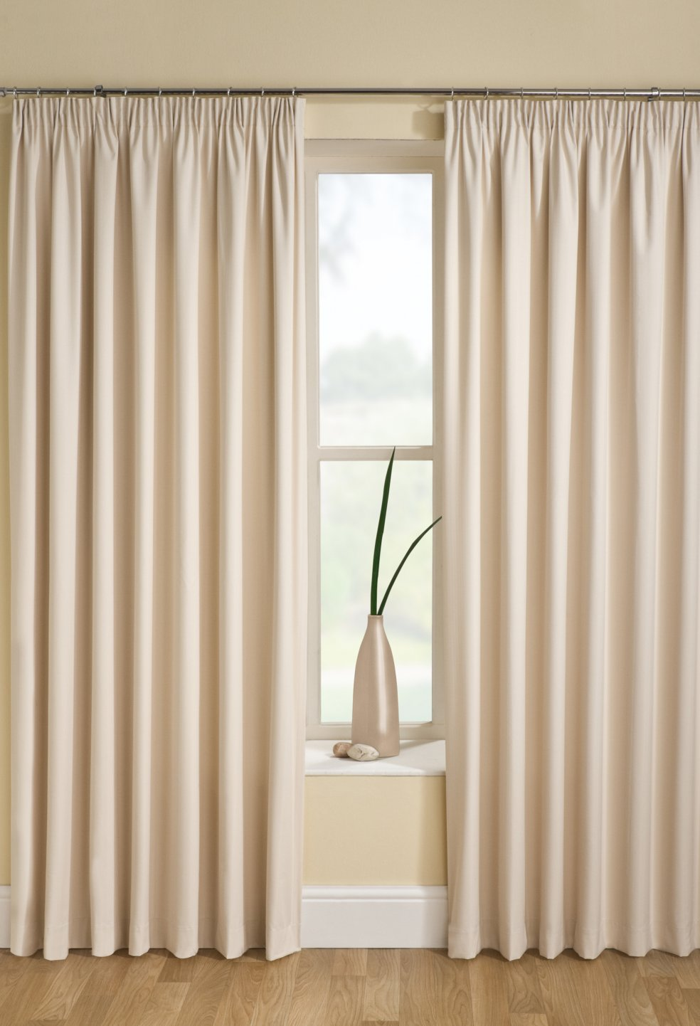 sober and beautiful cream curtains for bedroom FBGJFVY