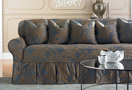 sofa cover view details u003e · two toned matelasse damask JLWJBOS