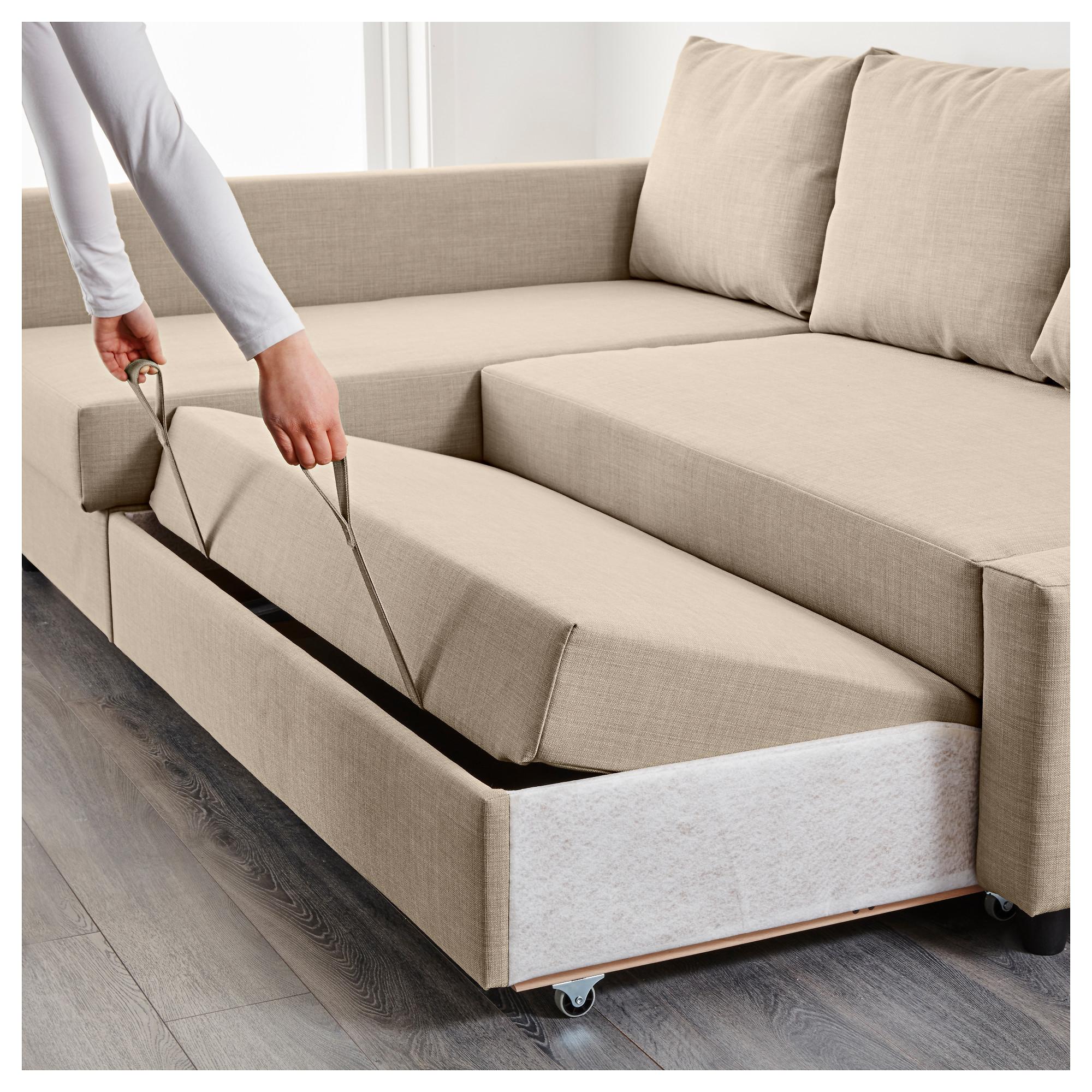 sofabed friheten corner sofa-bed with storage - skiftebo dark grey - ikea WIKBAQH