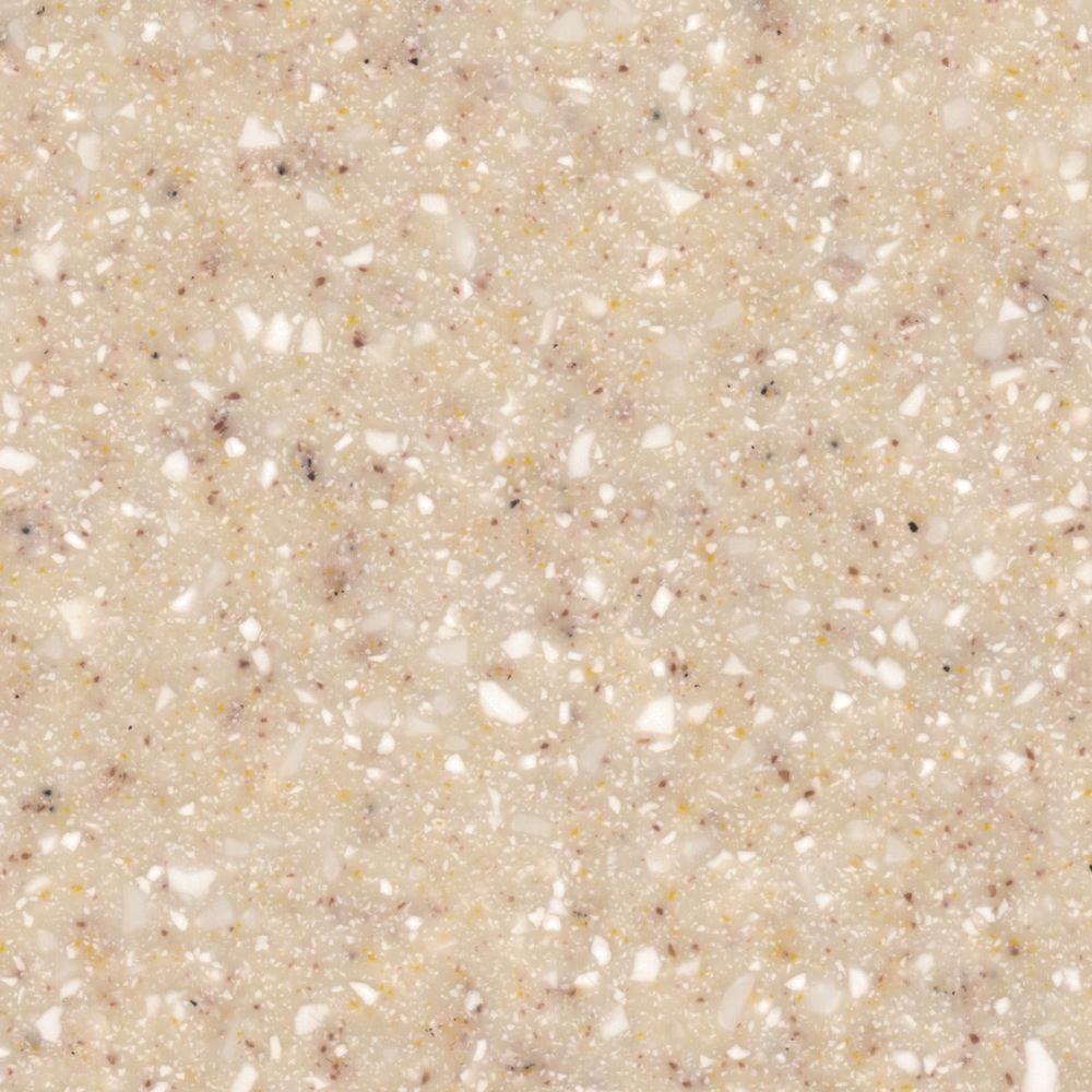 solid surface countertop sample in maui quartz IIBJXDJ