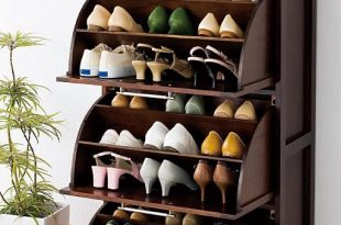 solid wood rotating shoe rack tipping shoe shoe shoe storage cabinet hall WBGCCGN