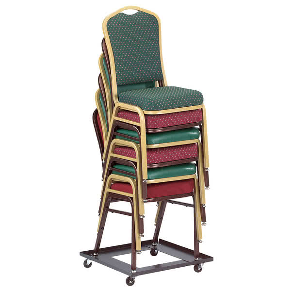 stackable chairs national public seating dy-81 stack chair dolly EACKWJI