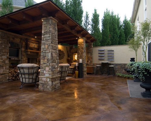 stained concrete patio MPAJEBP