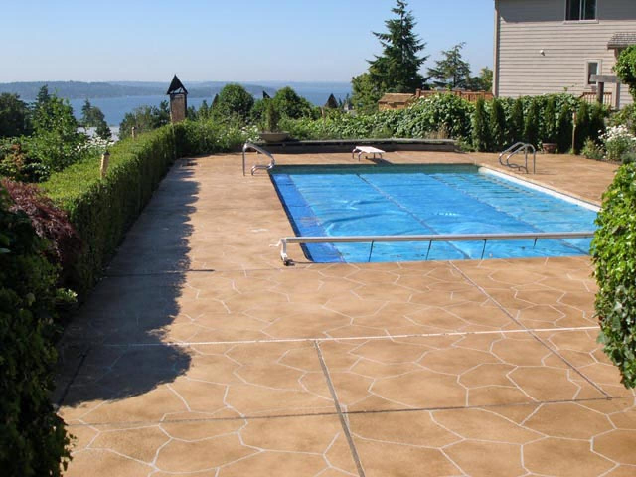 stained concrete patio stamped concrete overlay BJYXSCV