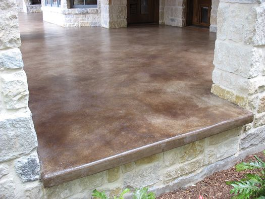 stained concrete patio take a look at this patio concrete stain - solcrete.com BFKYNGR