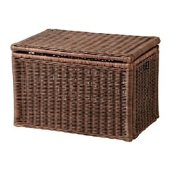 storage boxes gabbig storage box, dark brown width: 28  MPKGCPB