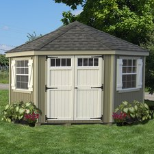 storage sheds colonial 10 ft. w x 10 ft. d wood storage shed AWLVPYZ