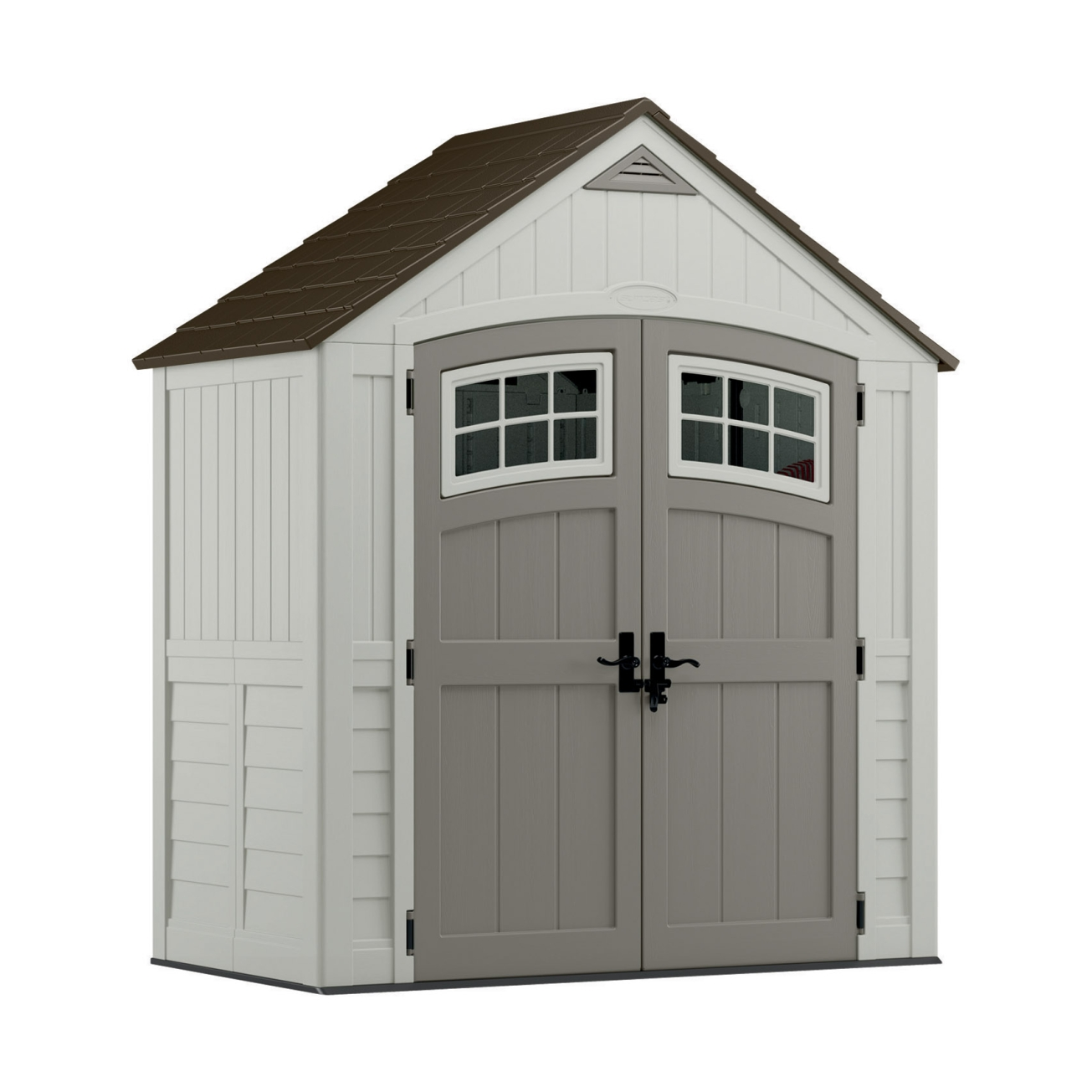 storage sheds suncast 7ft x 4ft cascade resin storage shed (bms7400) - ace hardware NRGLZKA