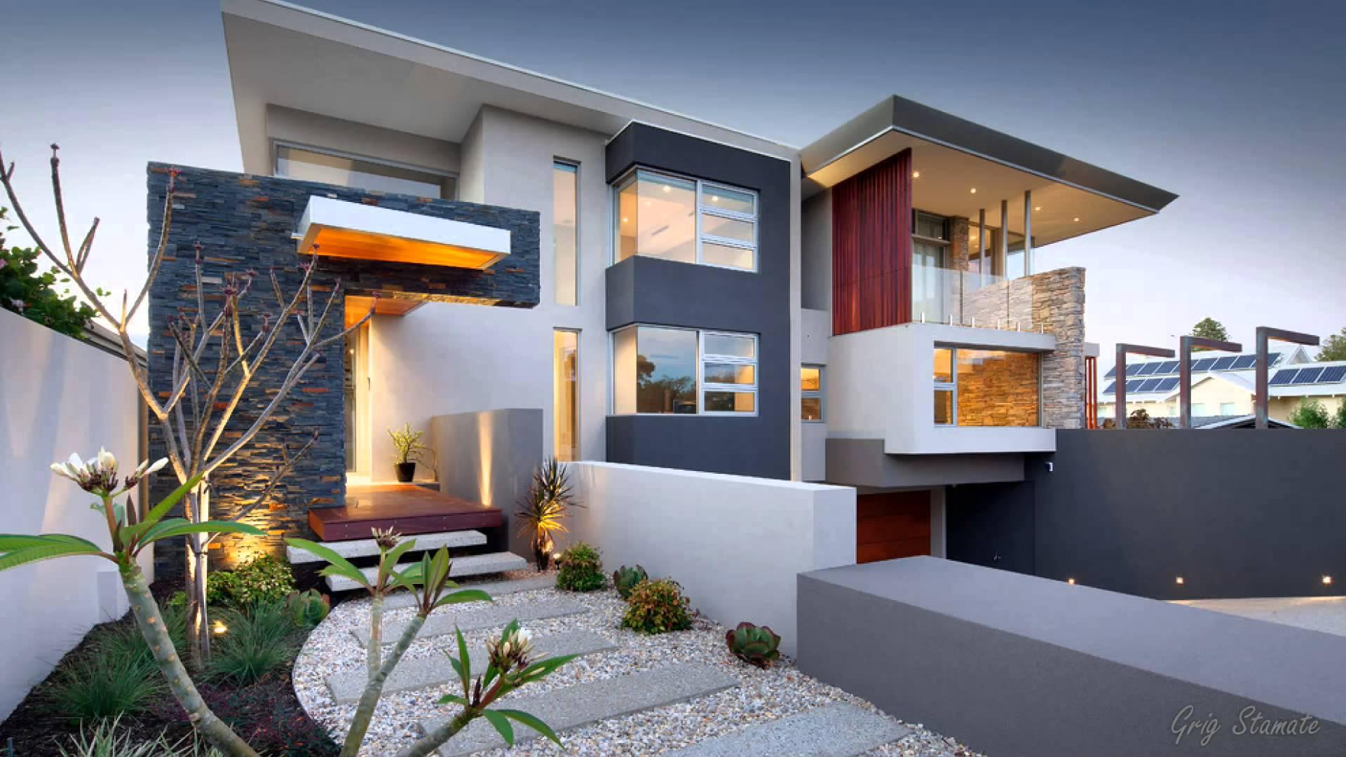 stunning ultra modern house designs - youtube RJUMZQT