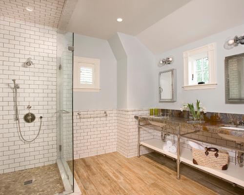 subway tile bathroom saveemail MTGBXSV