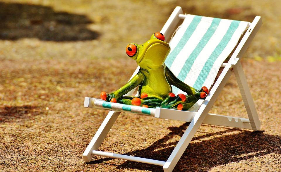 sun loungers, beach, frog, summer, sun HUTKOVX
