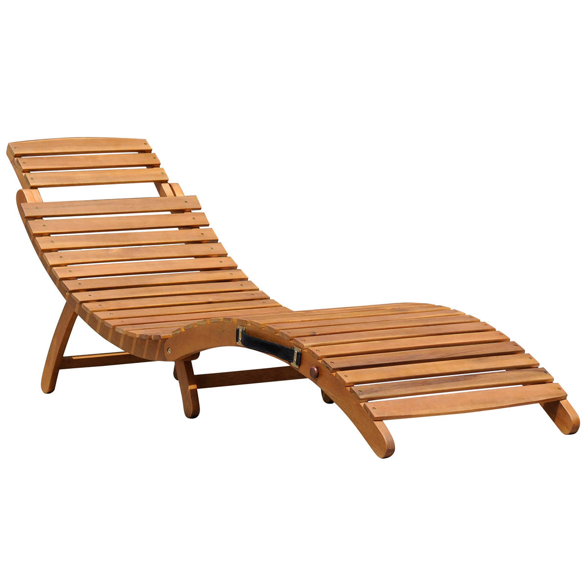 sun loungers large-folding-wooden-curved-sun-lounger YBENFVH