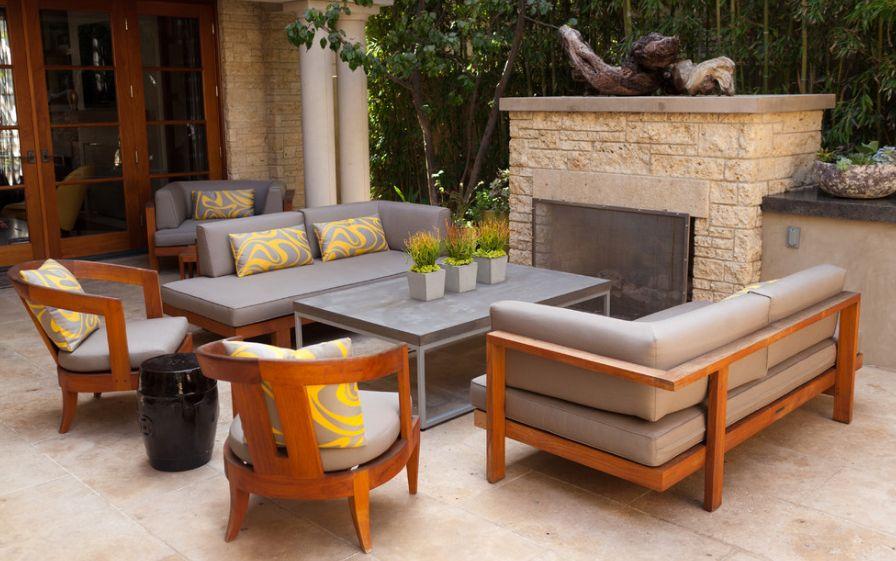 teak furniture home decorating trends - homedit QTLPXGN