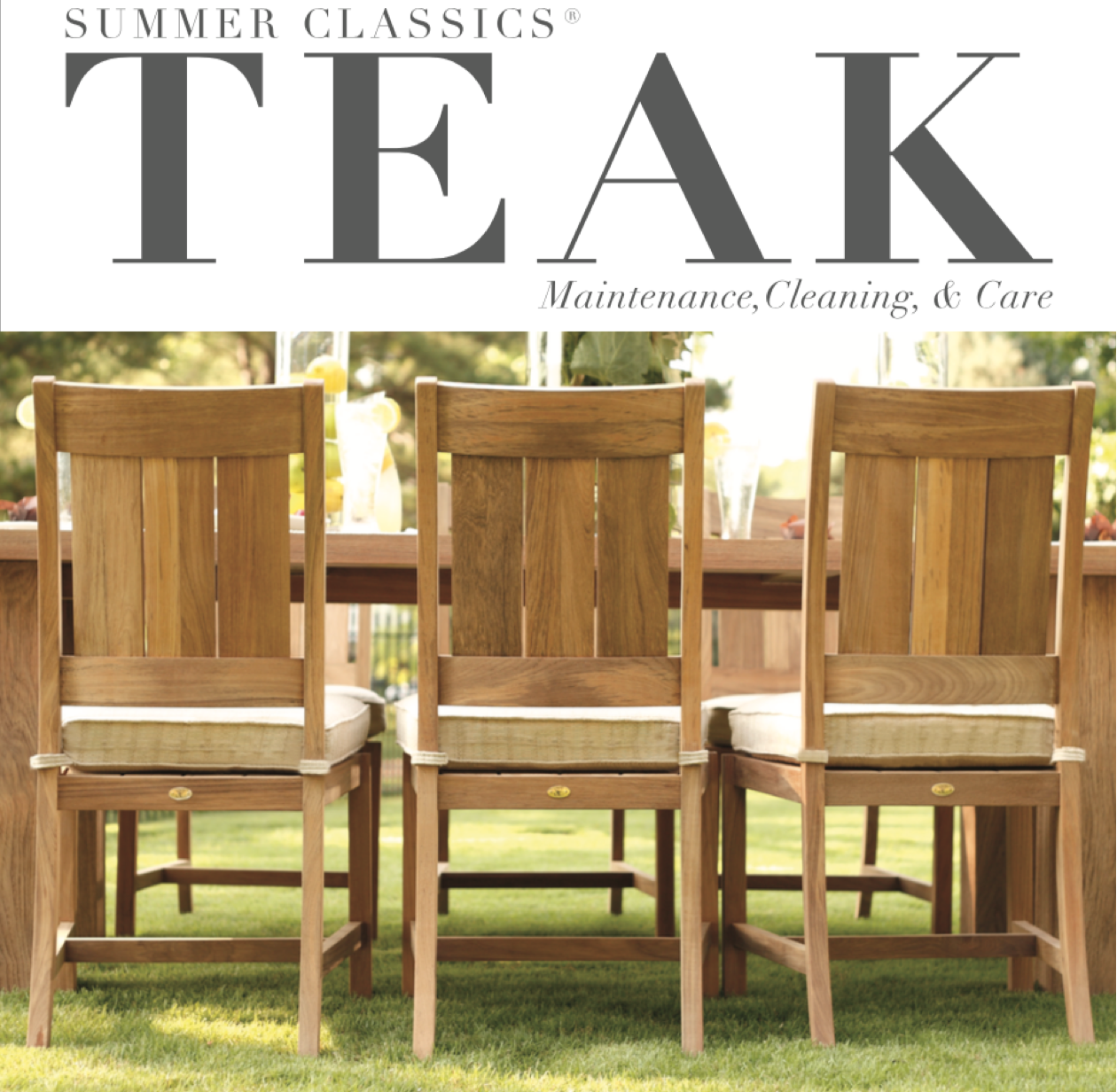teak furniture summer classics teak is made of the highest quality slow growth plantation UQRYGJG