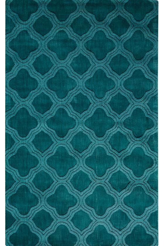 teal rug morocco i area rug - transitional rugs - wool rugs - area rugs DAFGTNZ