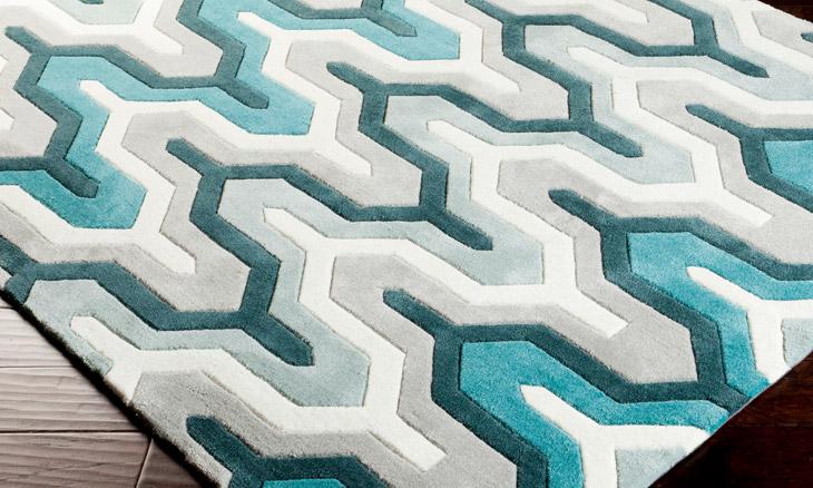teal rug product image TVXWIBR